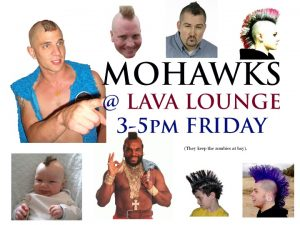 mohawk sign lava lounge 2016
